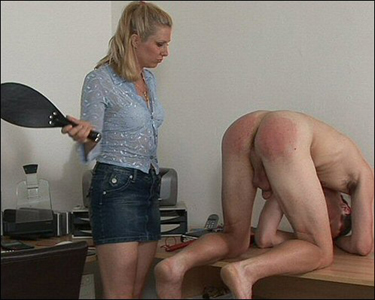 Video men Spank with men