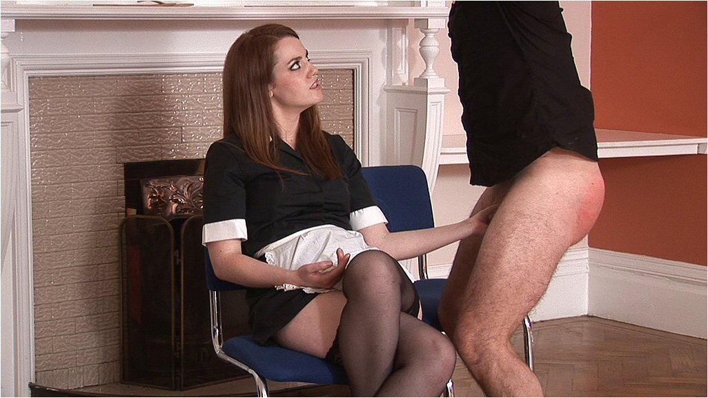 Chastity handsome ladies who spank men