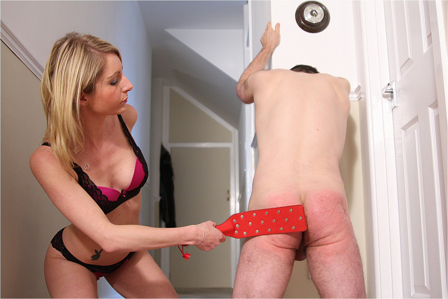 Women spank boys tube