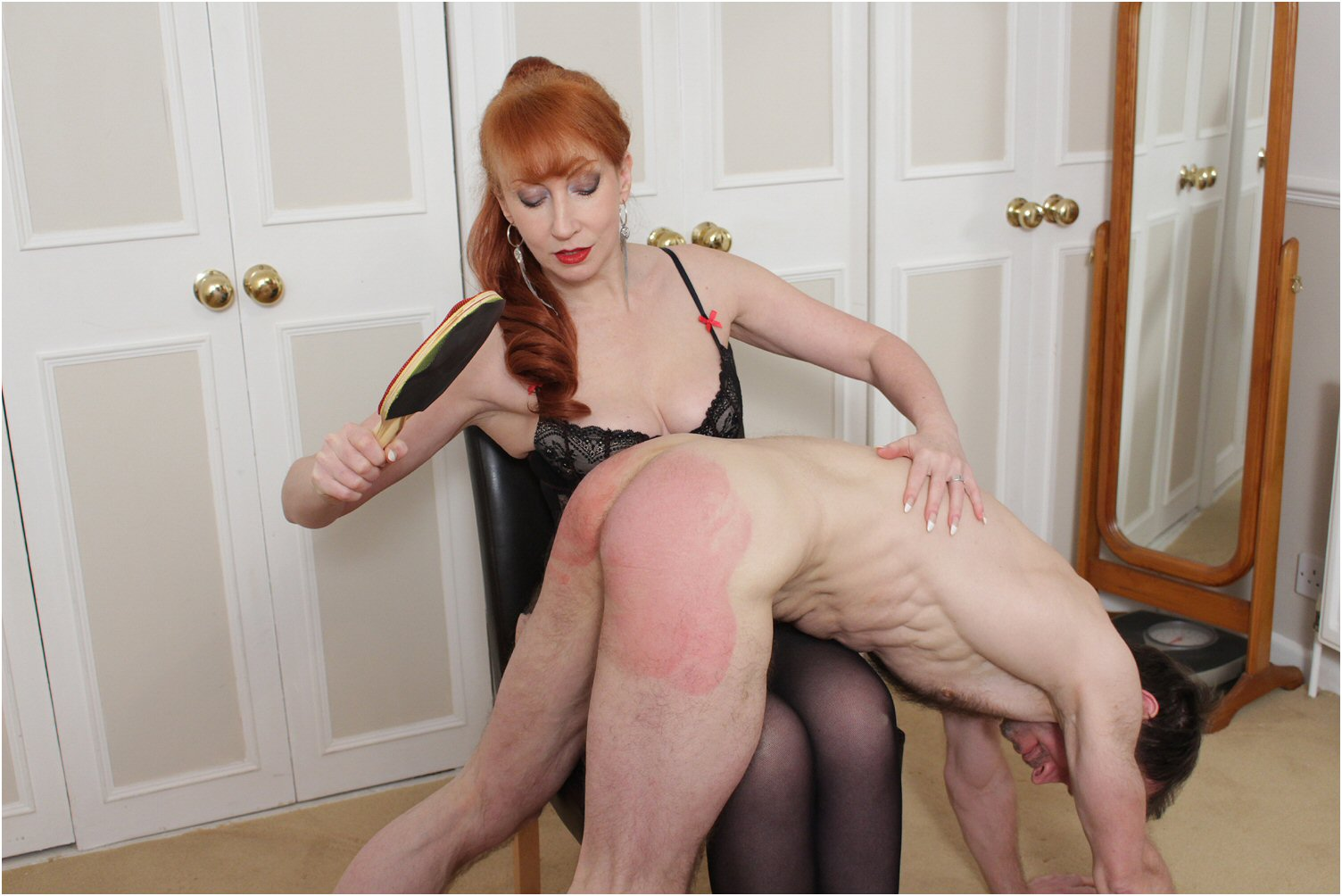 Women who love to spank