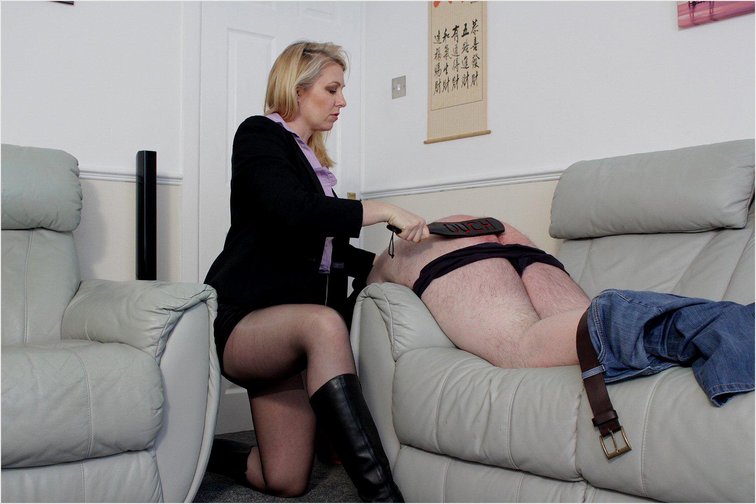 Women who spank men otk Wonderful Asshole