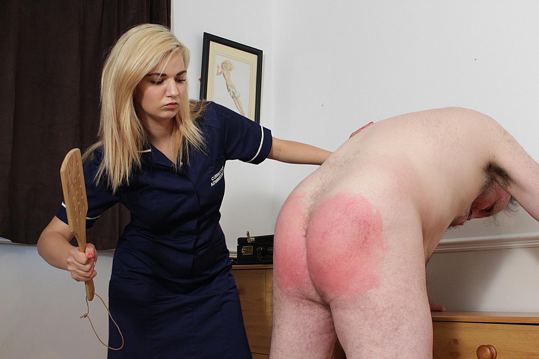 women that spank men