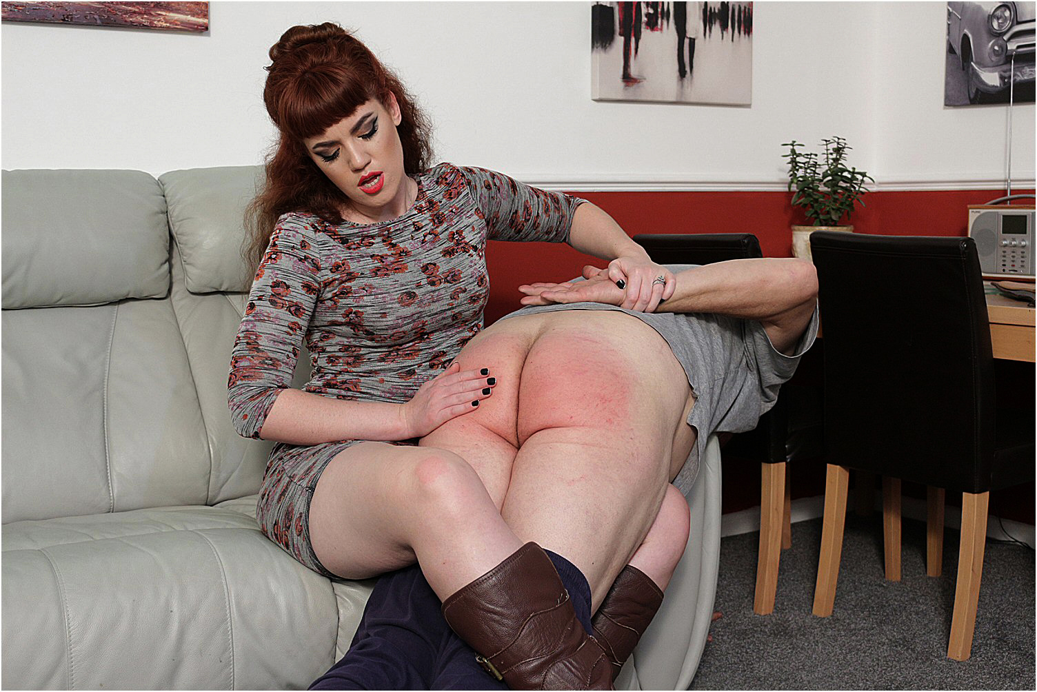 ladies spanking men