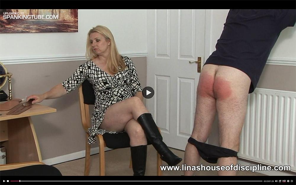 New spanking tube