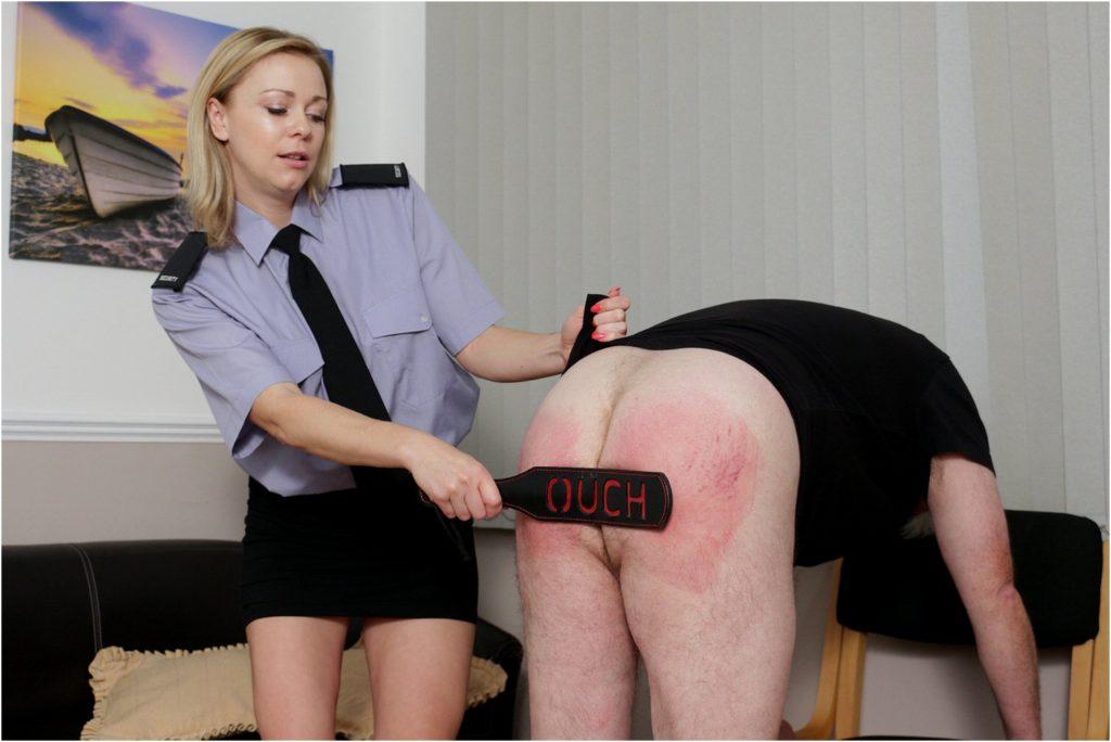 women spanking men